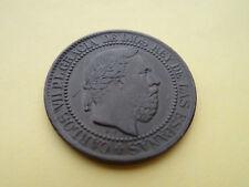 10 CENTIMOS DE PESETA 1875 CARLOS VII - EBC - REVERSO GIRADO