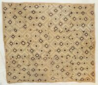 African Kuba cloth Velvet bakuba raffia Africa kv346