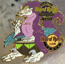 Hard Rock Cafe & Hotel TAMPA 2015 Purple DINOSAUR PIN LE 300 New in HR Bag!