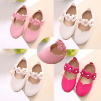 Children Kids Girl Flower Shoes Princess Party Anti-slip All Match Casual Shoes