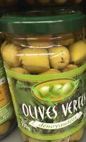 Lot revendeur destockage De 9 Bocaux Olives  Vertes De 200 Gr Chacun Dlc Longue
