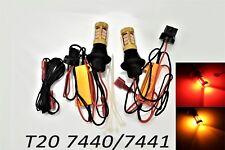 T20 7440 7441 992 W21W Rear Turn Signal Light Switchback LED Amber Red Bulb A1 L