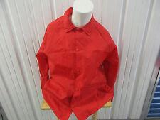 VINTAGE CARDINAL U.S.M.C. UNITED STATES MARINES CORPS LOGO XL COACH RED JACKET