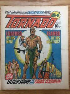Tornado #4 14/4/79 Black Hawk, The Mind Of Wolfie, Smith, Storm, IPC UK Comic