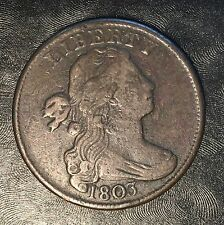 1803 Large Cent - High Quality Scans #F605