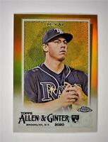 2020 Allen and Ginter Chrome Base Gold #207 Brendan McKay /50