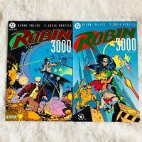 Robin 3000 Book 1 & 2 DC Graphic Novel TPB Prestige Comic Book Set 1-2 Batman
