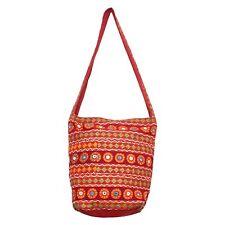 BG-23D Full Hand Work Jhola Bag Indian Traditional Handbag