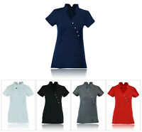 Beauty Tunic Hairdressing Massage Spa Therapist Health Work Nail Salon Uniform