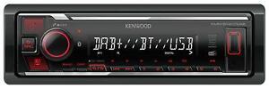 Kenwood KMM-BT407DAB MP3-Autoradio DAB Bluetooth USB iPod AUX-IN
