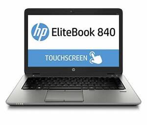 "HP Elitebook 840 G3 Laptop i5-6300U 2.4GHz 8GB 256G SSD 14"" FHD Touchscreen W10P"