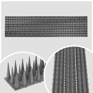 AtHaus® Taubenabwehr KUNSTSTOFF Vogelschutz 45x520mm Taubenspikes 35mm hoch