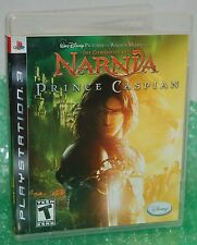 Sony PS3 The Chronicles of Narnia Prince Caspian Video Game Movie Cast Adventure