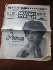 NME 9/7/62 Cliff Richard Shirley Bassey Louise Cordet Gene Vincent Bobby Darin