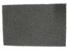 Non Woven mano almohadillas scotchbrite Gris Fino 150 X 230mm Almohadilla De Limpieza X 1