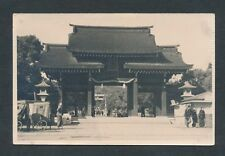 c. 1930 TEMPLE/STREET VENDORS, DOWNTOWN HONG KONG Real Photo Postcard