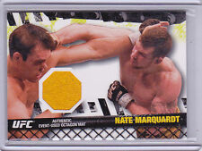 2010 Topps UFC Fight Mat Relics #FMNM Nate Marquardt UFN 8