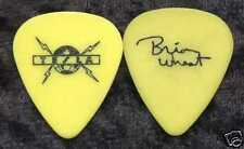 Tesla 2002 Never Stops Tour Guitar Pick! Brian Wheat custom concert stage Pick