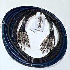Whirlwind Audio Snake 12 TRS Male - 12 TRS Male 10 ft, Multitrack Fan to Fan