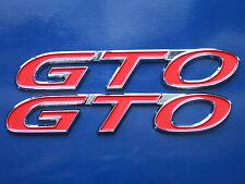 2004-2006 Pontiac GTO Side Skirt Rocker Panel Badge Pair (7 colors)
