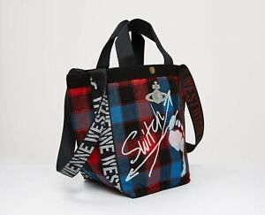 Vivienne Westwood  Switch Small Runner HOLDALL Bag(Blue)