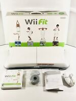 Wii Nintendo Fit Balance Board Game Bundle New Open Box