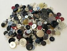 New listing Vintage Lot 300+ Sewing Buttons - Various Sizes 1/4�-7/8� & Colors, Mop