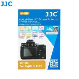 JJC 0.3mm Tempered Glass LCD Screen Protector for Fujifilm Fuji X-T3 XT3 Camera