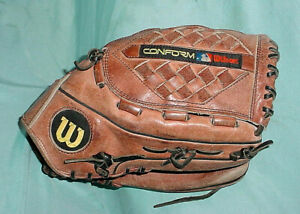"13"" Wilson DFS Conform Dial A1950 Japan Softball Baseball Glove Right Hand Throw"