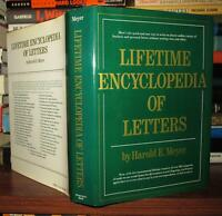 Meyer, Harold E.  LIFETIME ENCYCLOPEDIA LETTERS  1st Edition 10th Printing