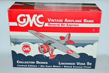 GMC Vintage Airplane Bank General Air Express Lockheed Vega 5B #35043