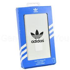 Véritable Adidas Original Rabattable coque pour Samsung Galaxy S5 - Blanc Neuf