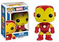 FUNKO Pop Iron Man 04 Ironman Marvel The Avengers Vinyl Figure Tony Stark #1