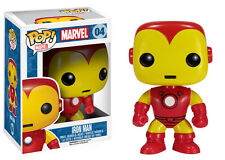 FUNKO POP IRON MAN 04 IRONMAN MARVEL THE AVENGERS VINYL FIGURE TONY STARK #1