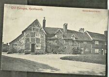 """UCF Early Postcard, """"Old Cottages,"""", Kenilworth # 2"""