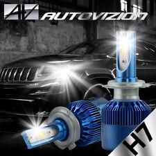 2PCS H7 388W 38800LM 6000K White Car COB LED Headlight Headlamps Bulbs Kit