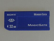 Original 32MB SONY Memory Stick 32 MB alte Bauweise MSH-32