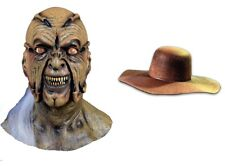 Halloween JEEPERS CREEPERS Latex Mask + CREEPER HAT YOU GET BOTH Haunted House