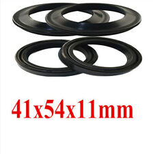 Motorcycles 2pcs 41x54x11 Oil Seal & 2pcs Dust Seal On Front Fork Damper Shock