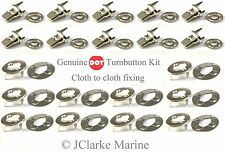 DOT Turnbutton Common Sense fastener kit cloth to cloth boat canopy cover bimini