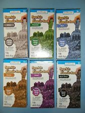 LOT OF 6 CREATOLOGY SPARKLE KINETIC SAND *NEW*
