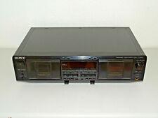 Sony TC-WE635 High-End Doppel Kassettendeck, neue Riemen, 2 Jahre Garantie