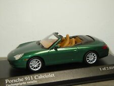 Porsche 911 996 Cabriolet 2001 - Minichamps 1:43 in Box *34727
