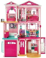 Barbie Dream House Doll Story Play Lights Sound Motion Furniture New