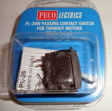New Peco PL-26W Passing Contact Switch White Lever