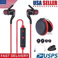 Wireless Bluetooth 4.1 Stereo Earphone Universal Sport Earbuds Headset Headphone