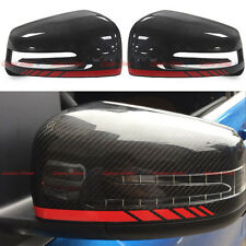 Carbon Fiber Mirror Cover for Mercedes W218 W221 W246 W117 W204 A45 S C 63 AMG