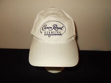 Crown Royal Fishing Whiskey Whisky mesh velcro strapback hat sku30