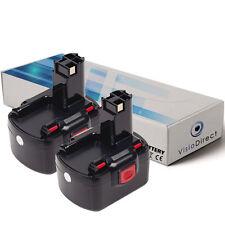 Lot de X2 batteries 12V 3000mAh pour BOSCH GSR12-2 - Société Française -