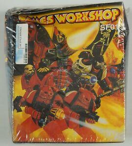 Games Workshop SF01 SEALED Space Marines Warhammer 40K 40,000 2000
